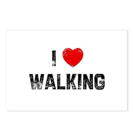 I * Walking Postcards (Package of 8)