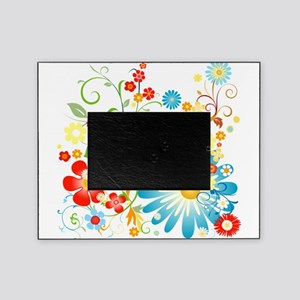 floweredvector Picture Frame