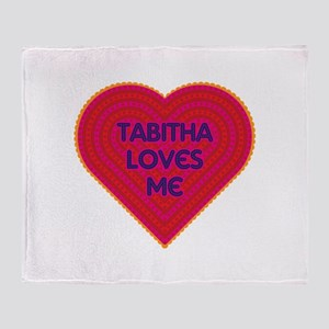 Tabitha Loves Me Throw Blanket