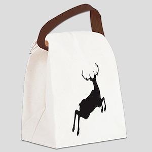 Deer Canvas Lunch Bag