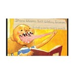 Shannon - Strong Libraries Wall Decal