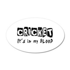 Cricket Designs Wall Decal