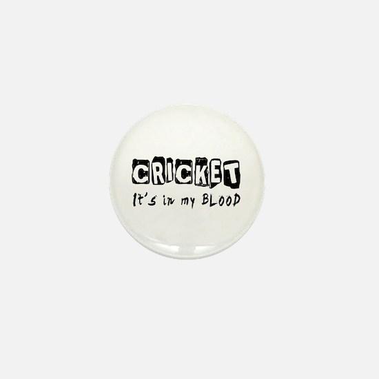 Cricket Designs Mini Button