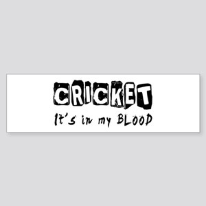 Cricket Designs Sticker (Bumper)