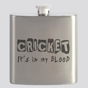 Cricket Designs Flask