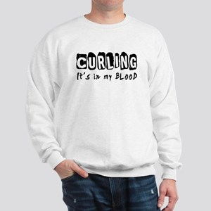 Curling Designs Sweatshirt
