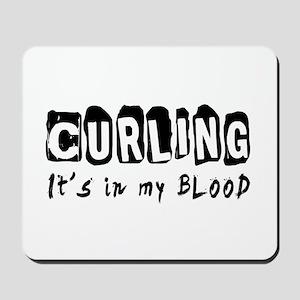 Curling Designs Mousepad