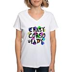 Crazy Corso Lady Women's V-Neck T-Shirt