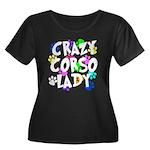 Crazy Corso Lady Women's Plus Size Scoop Neck Dark