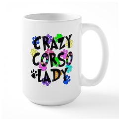 Crazy Corso Lady Large Mug