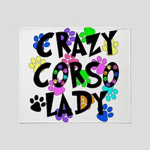 Crazy Corso Lady Throw Blanket