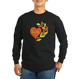 Tai chi Long Sleeve Dark T-Shirts