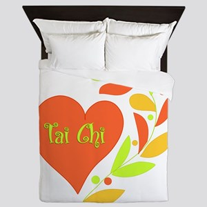 Tai Chi Heart Queen Duvet