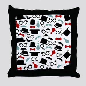 The Disguinished Gentleman Throw Pillow
