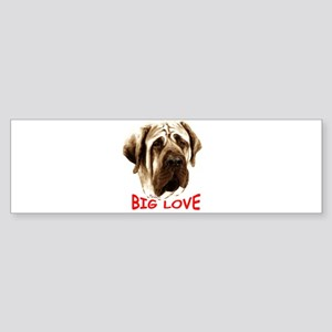 mastiff Sticker (Bumper)