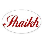 Shaikh name Sticker
