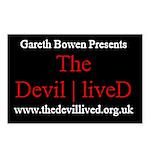 Gareth Bowen Presents The Devil Lived Postcards (P