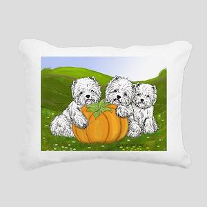Pumpkin Patch Rectangular Canvas Pillow