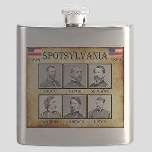 Spotsylvania - Union Flask