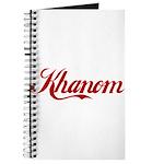 Khanom name Journal