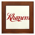 Khanom name Framed Tile