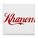 Khanom name Tile Coaster