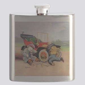Roosevelt Bear Mechanic Flask