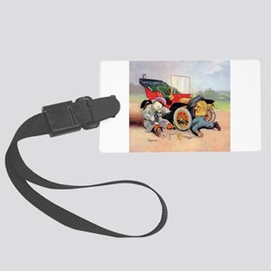 Roosevelt Bear Mechanic Large Luggage Tag