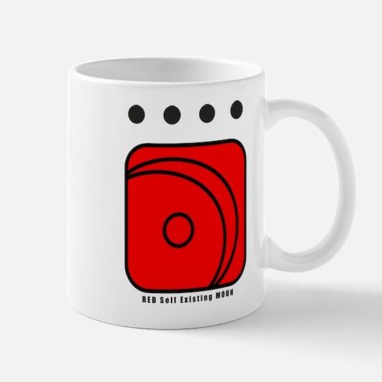 RED Self-Existing MOON Mug
