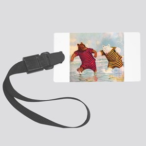 RB_atlantic city bears_SQ Large Luggage Tag