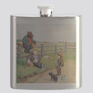 RB_bears gone fishing_SQ Flask