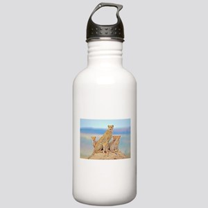 Cheetah Family Stainless Water Bottle 1.0L