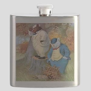 roosevelt bears005_SQ Flask