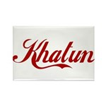 Khatun name Rectangle Magnet (10 pack)
