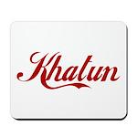 Khatun name Mousepad