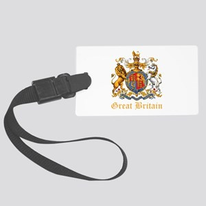 Royal Coat Of Arms Large Luggage Tag