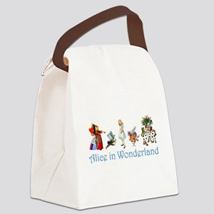 Alice Blue 4 Canvas Lunch Bag