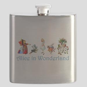Alice Blue 4 Flask