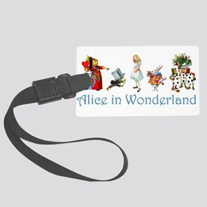 Alice Blue 4 Large Luggage Tag