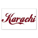 Karachi name Sticker
