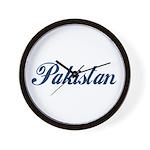 Pakistan (Blue) Wall Clock