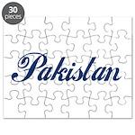 Pakistan (Blue) Puzzle
