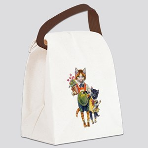 Thiele Cat 12 copy Canvas Lunch Bag