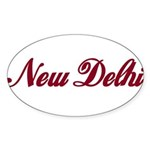 New Delhi name Sticker