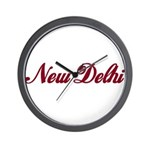 New Delhi name Wall Clock