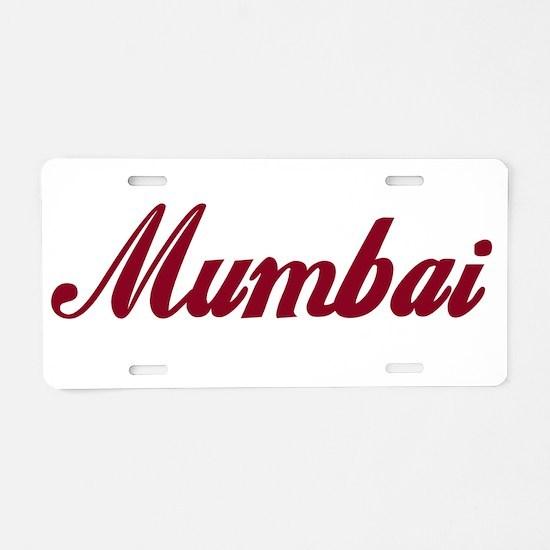 Mumbai name Aluminum License Plate