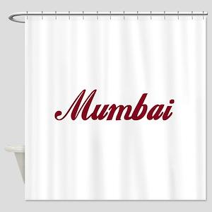 Mumbai name Shower Curtain