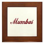 Mumbai name Framed Tile
