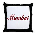 Mumbai name Throw Pillow