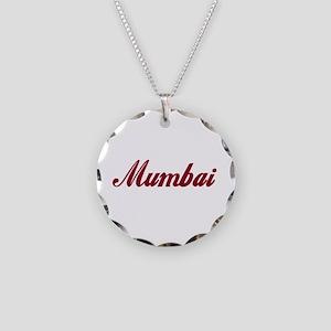 Mumbai name Necklace Circle Charm